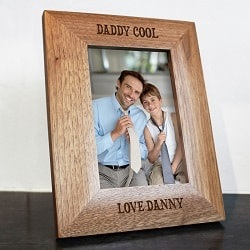 Daddy Cool Engraved Photo Frame