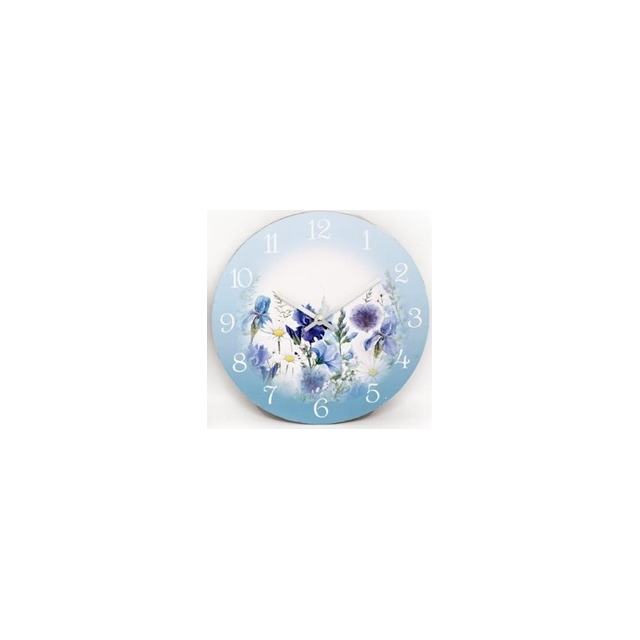 Blue Meadow Collection Wall Clock
