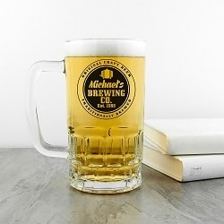 Personalised Brewing Company Beer Tankard
