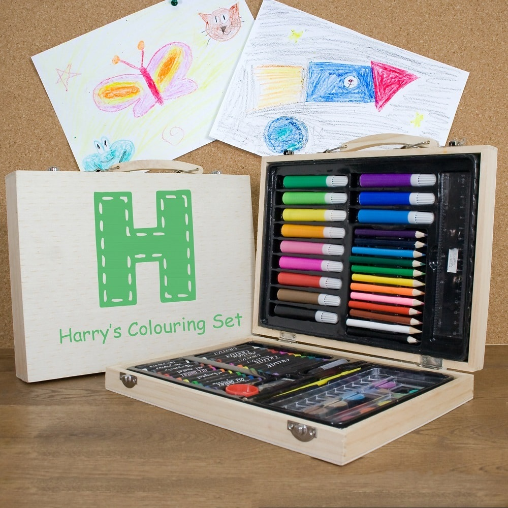 Personalised-Children's-Colouring-In-Set
