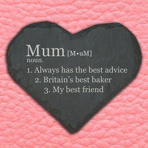 Personalised Definition of Mummy Keepsake