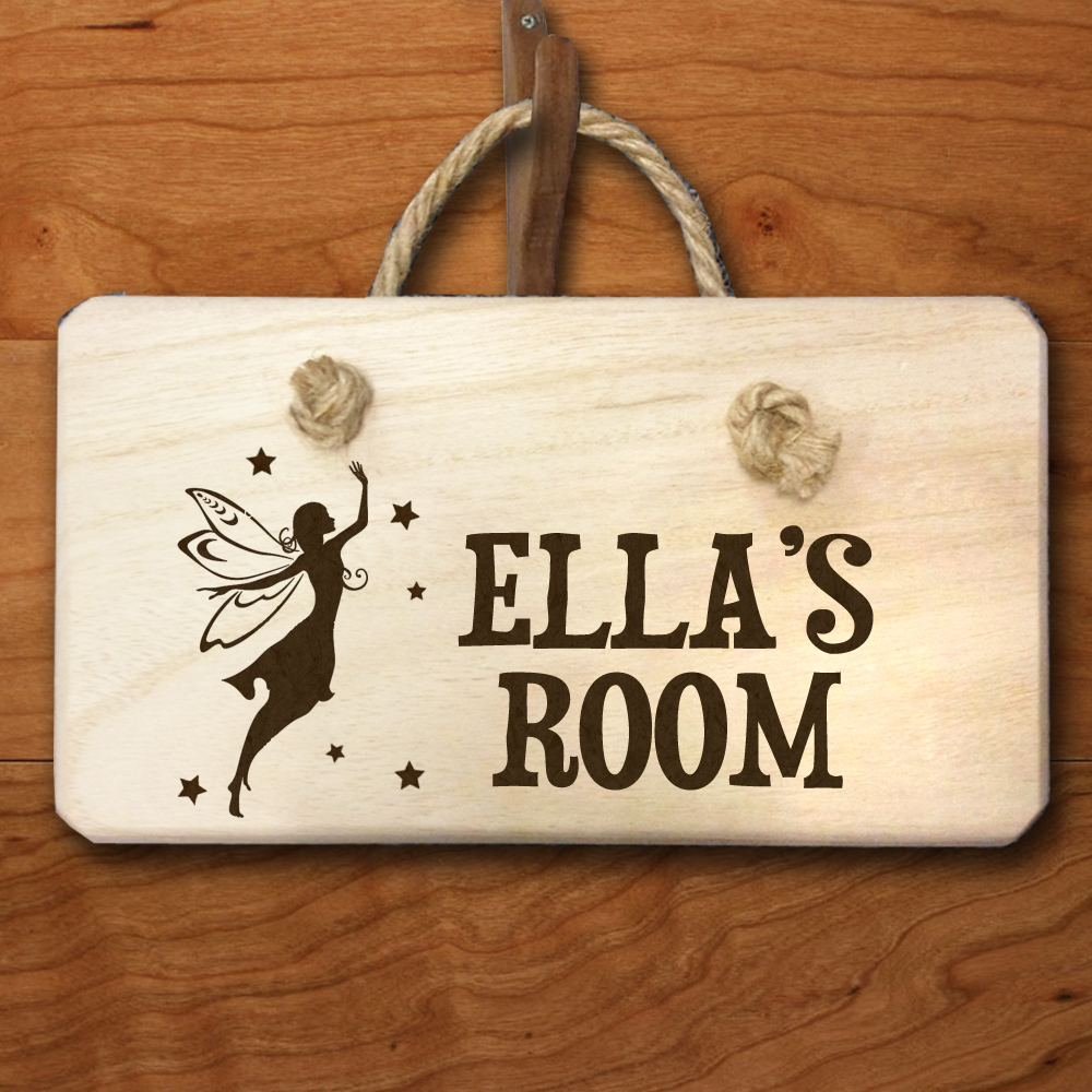 Personalised Fairy Door Hanger