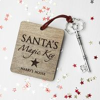 personalised Santas magic key
