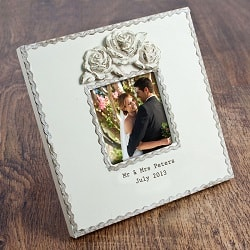 Personalised Roses Picture Frame